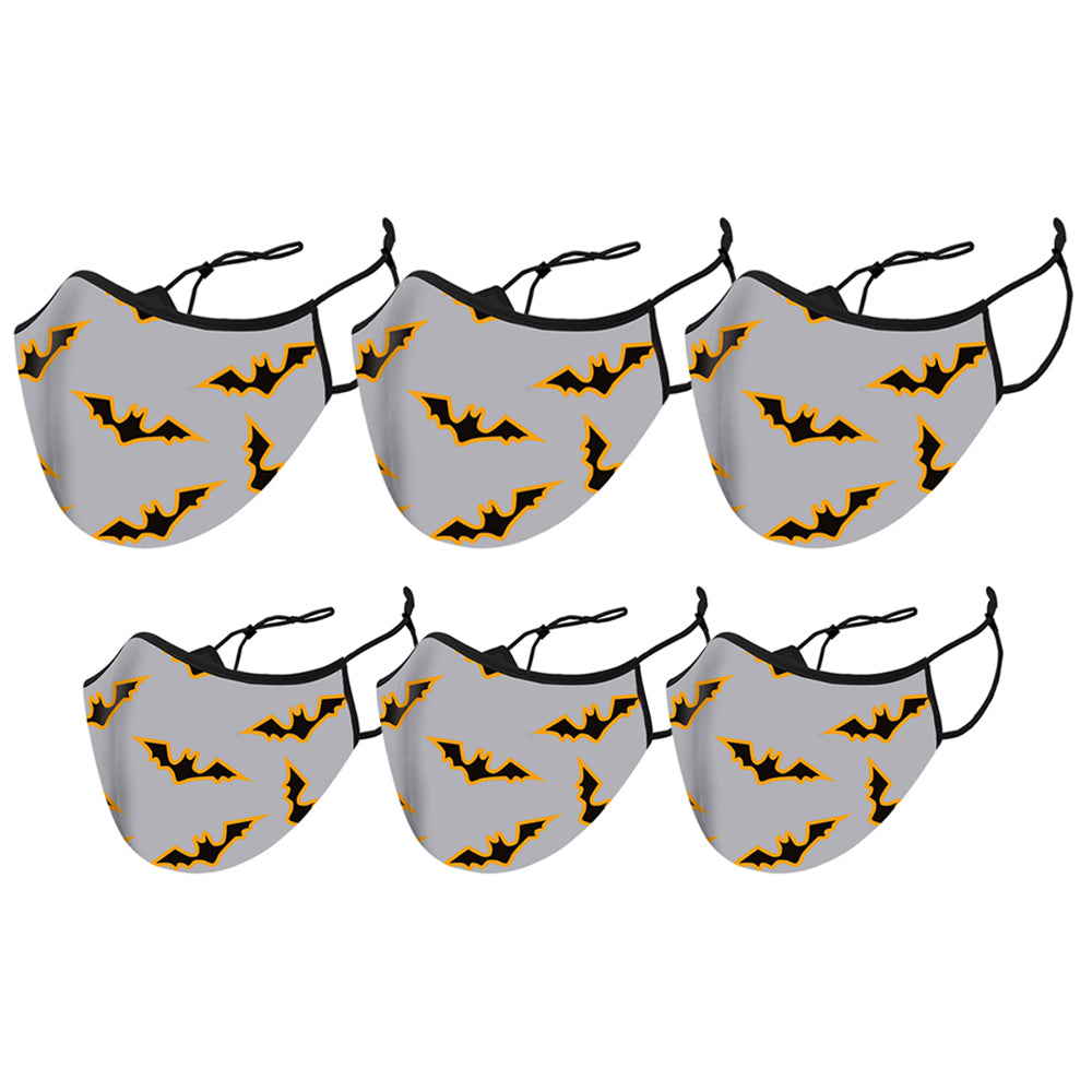 6-Pack: Double Layered Adults and Kids Collection Face Mask