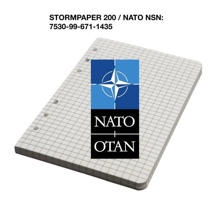 StormPaper now has NATO NSN number
