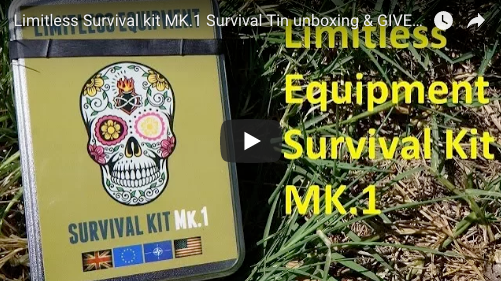 Contents unboxing: Mark 1 Survival Kit (Video)
