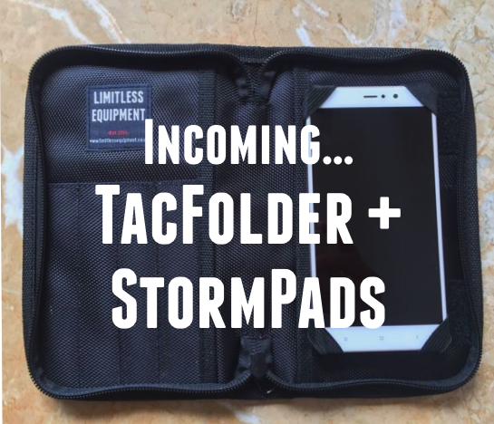PRODUCT DEVELOPMENT: StormPad & TacFolder
