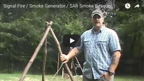 SURVIVAL BASICS: How to make a signal fire / smoke fire