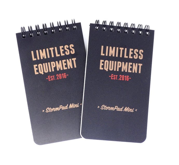 "TWIN PACK Tactical StormPad Mini (3"" x 5.5"") pocket sized weatherproof pads - Limitless Equipment"