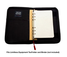 StormPaper: Weatherproof, waterproof, loose leaf paper & refill for TAMS binders and notepads. - Limitless Equipment