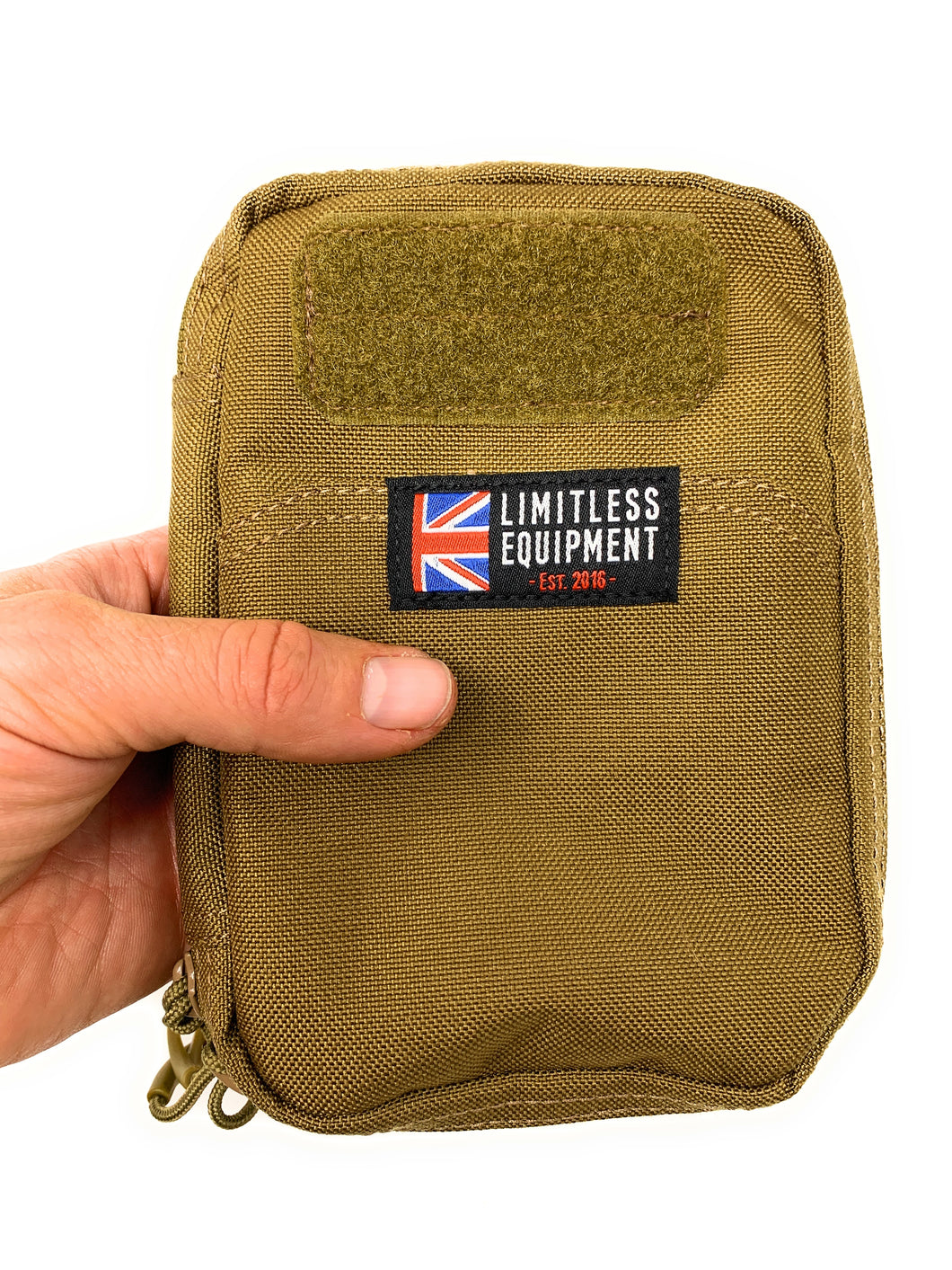 Limitless Equipment EDC-XS Utility Pouch. Bombproof storage for EDC, first aid kits and personal organisation (MOLLE) - Limitless Equipment