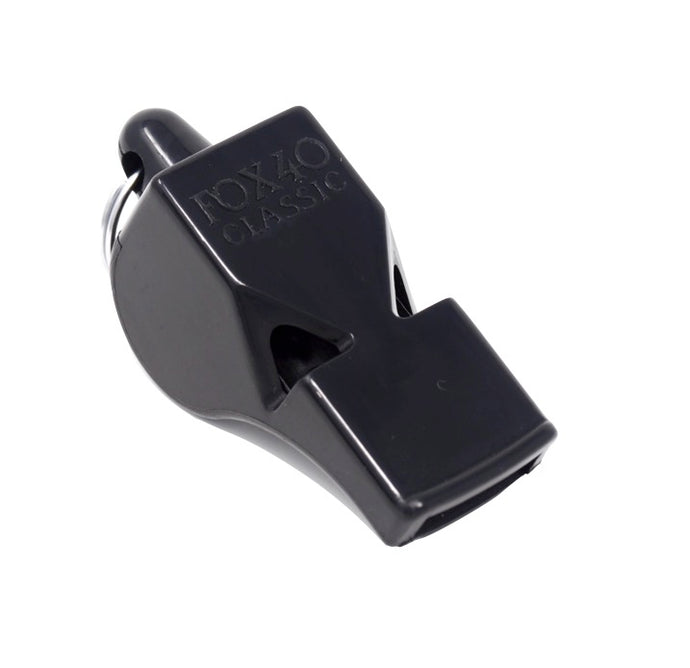 Fox 40 Classic Whistle (Black) - Limitless Equipment