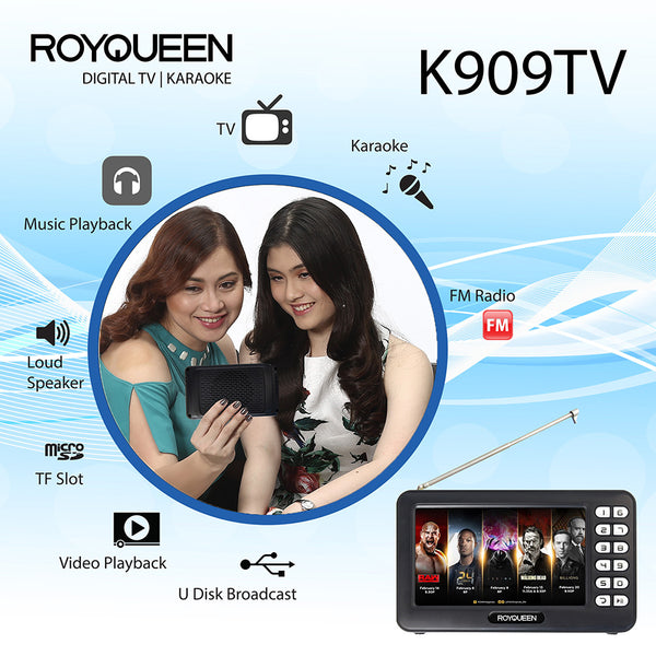 Royqueen Digital TV Karaoke