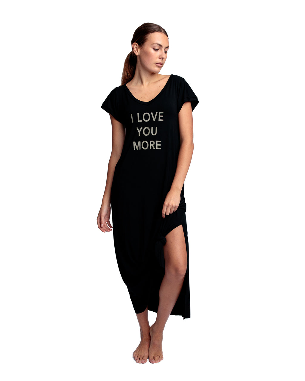 I LOVE YOU MORE T-shirt Dress