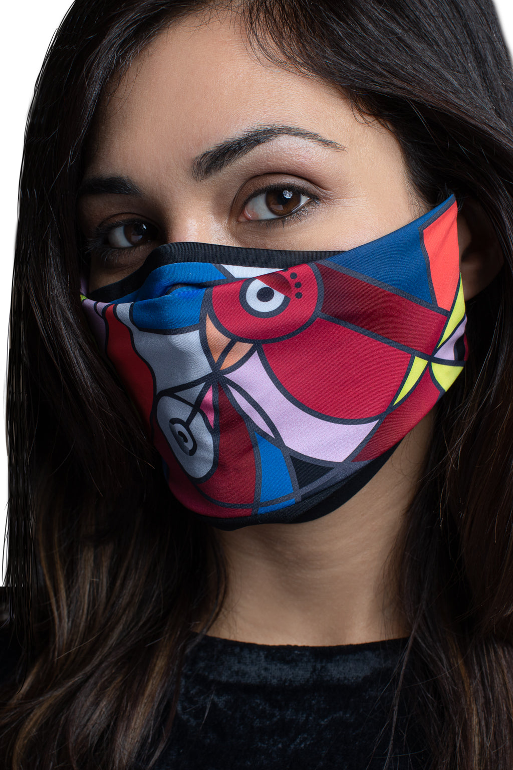Bird Print Face Mask