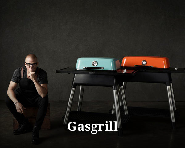 Gasgrill fra everdure by heston blumenthal