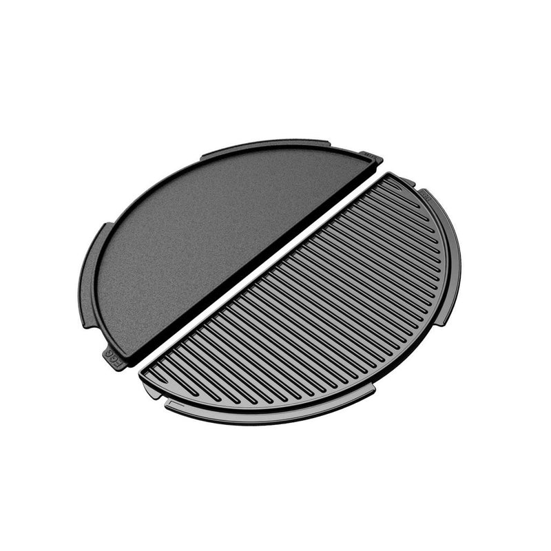 Big Green Egg - Half Cast Iron Plancha - large
