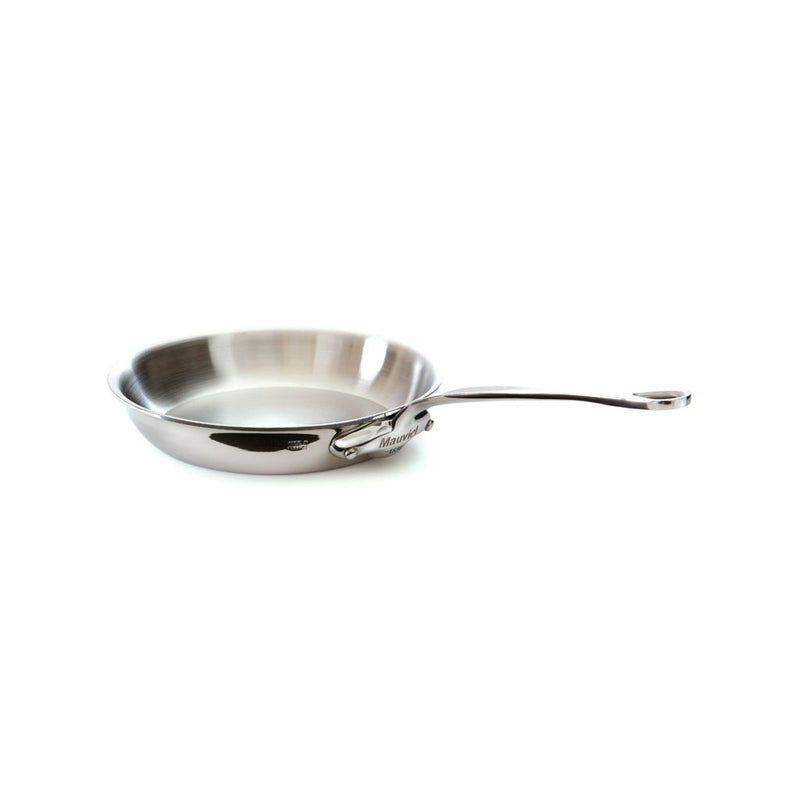 Mauviel Cook Style Stegepande blank stål - 28 cm