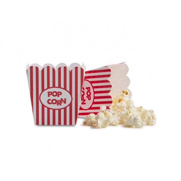 Mini Popcorn Æske, 100 stk.  /  Pop Corn Mini Box 100 pcs