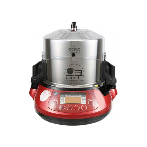 Ocoo Automatic pressure double boiler red
