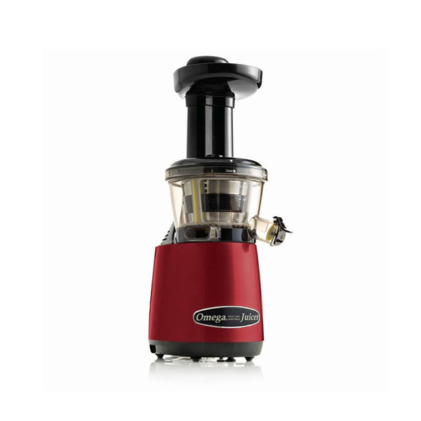 Omega 1. generations juicer rød med juiceprop (kapacitet: 350 ml)