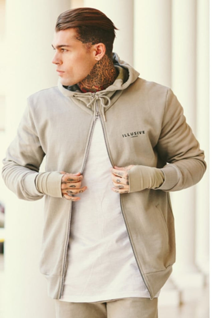 Illusive London Hoodie - Stone