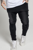SikSilk Rose Hareem Jeans - Black