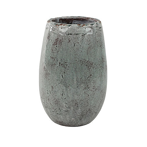 Kirsty Plant Vase - Ice Blue