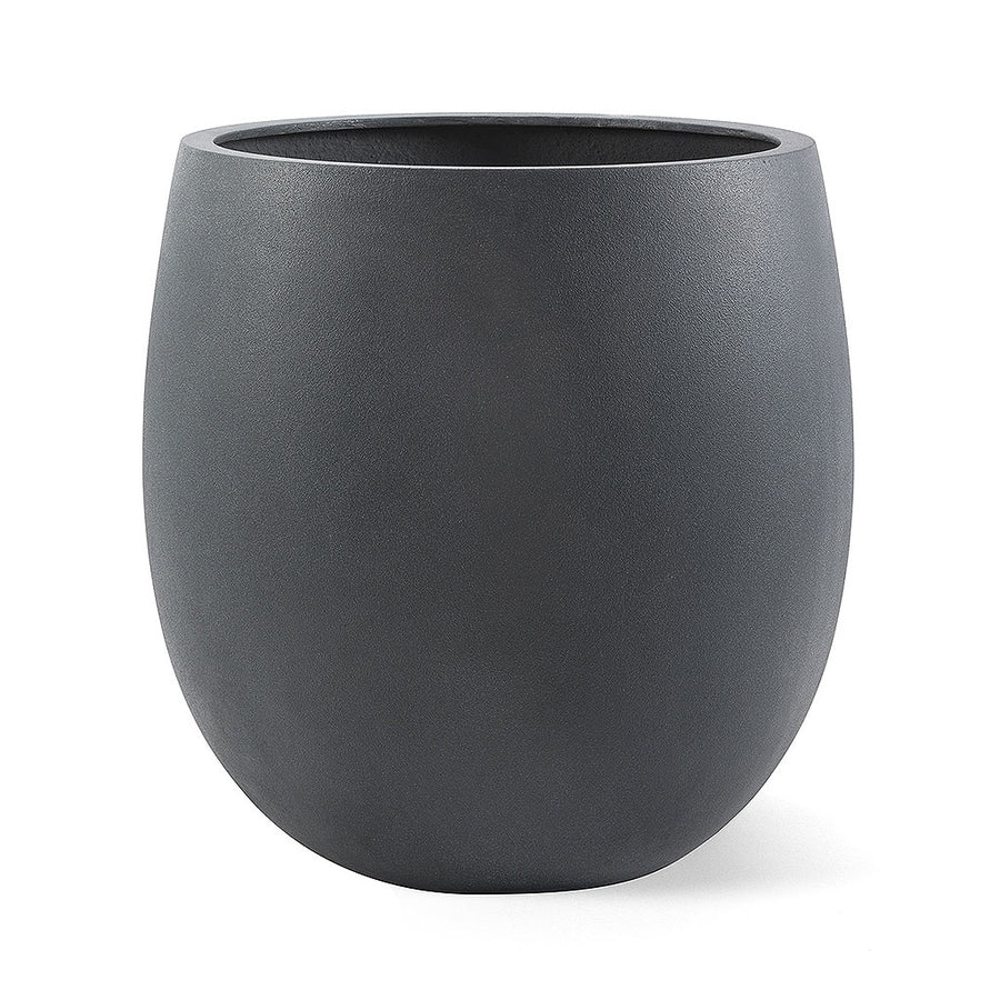 Balloon Plant Pot - Lead Concrete