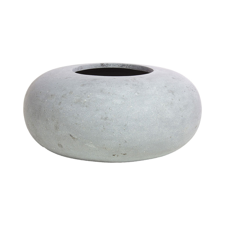 Donut Plant Pot - Grey