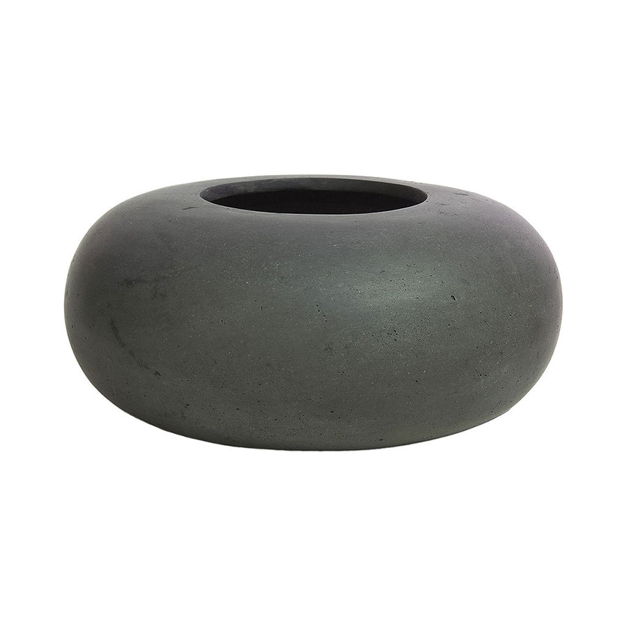 Donut Plant Pot - Anthracite