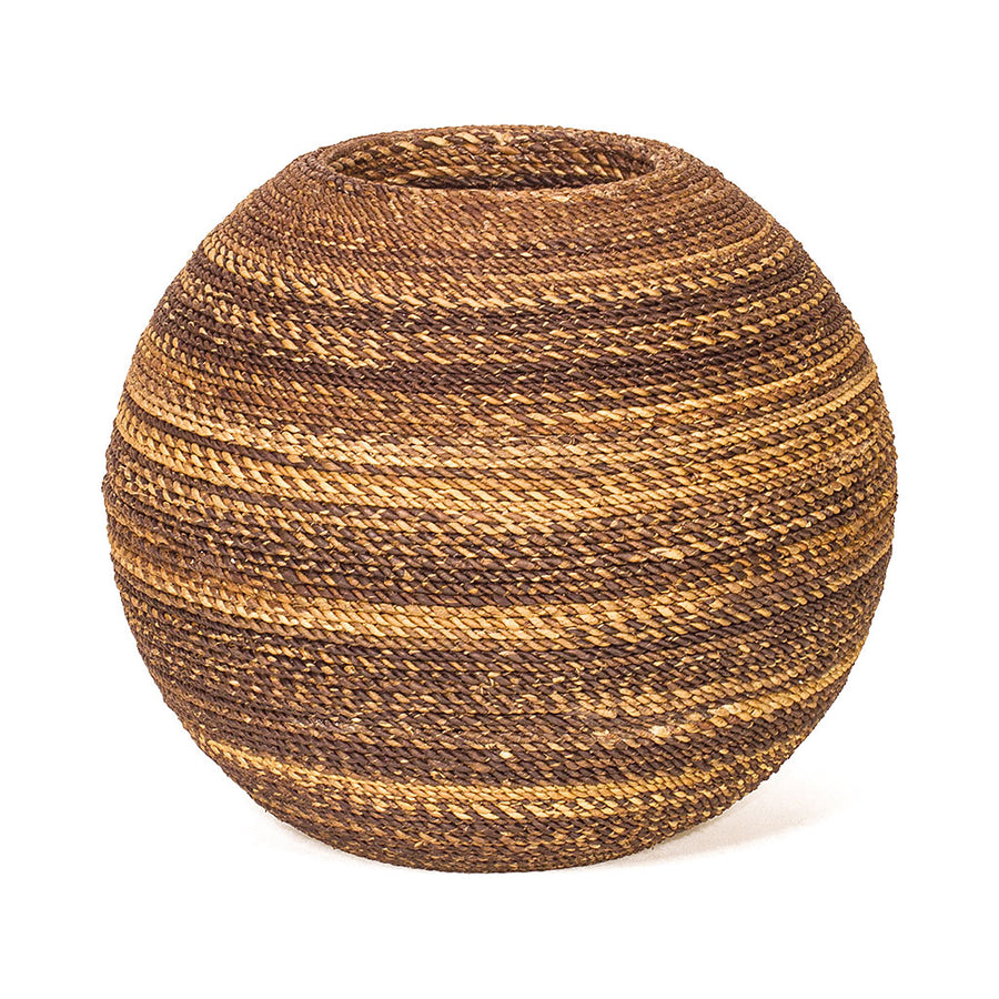 Beach Wicker Ball Planter - Abaca 30 x 30cm