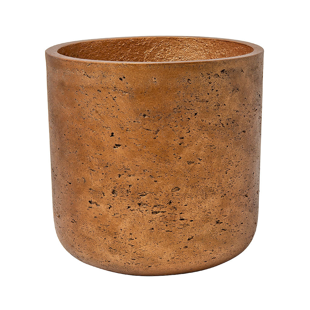 Charlie Plant Pot - Metallic Copper 12cm 15cm 18cm