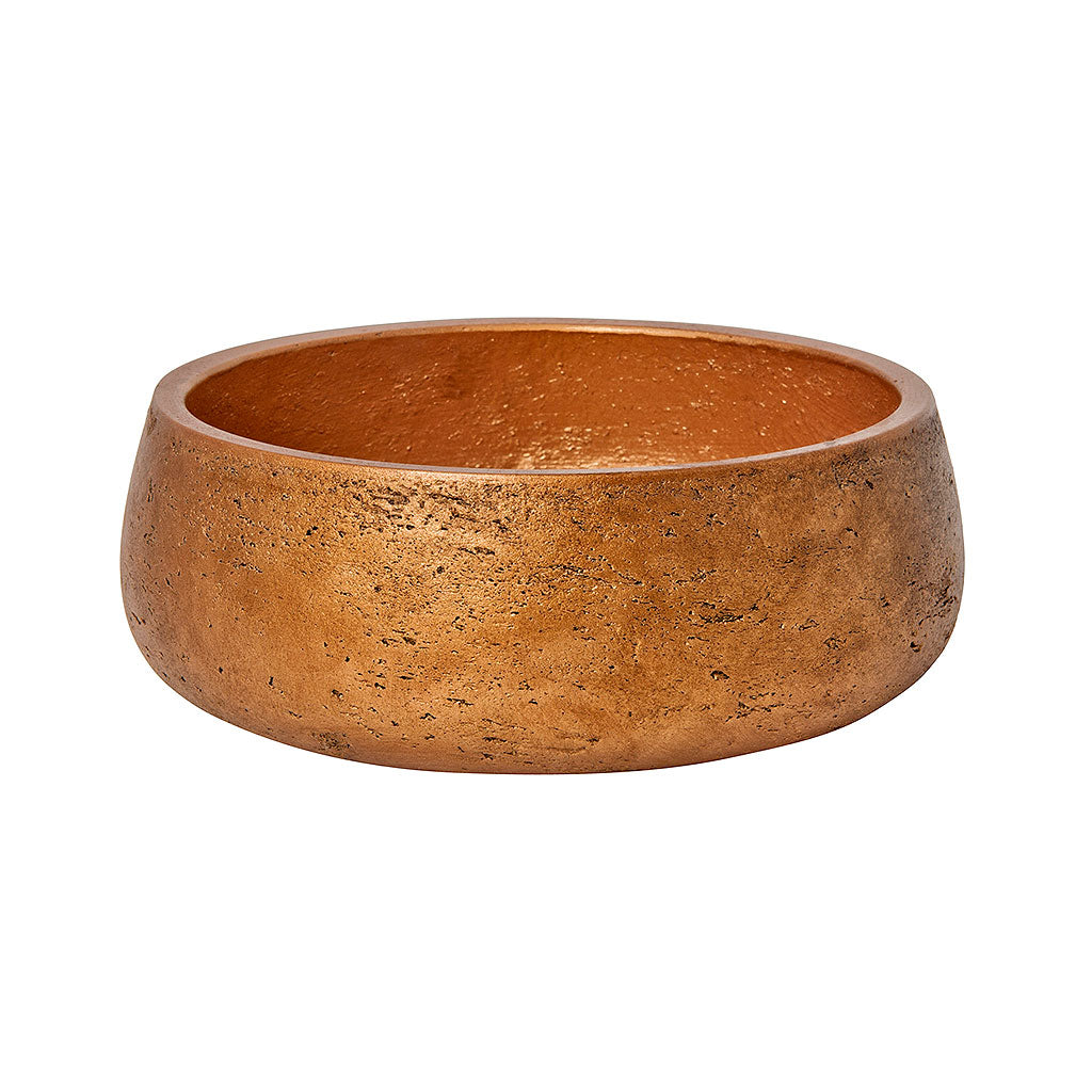 Eileen Plant Bowl - Metallic Copper 24cm