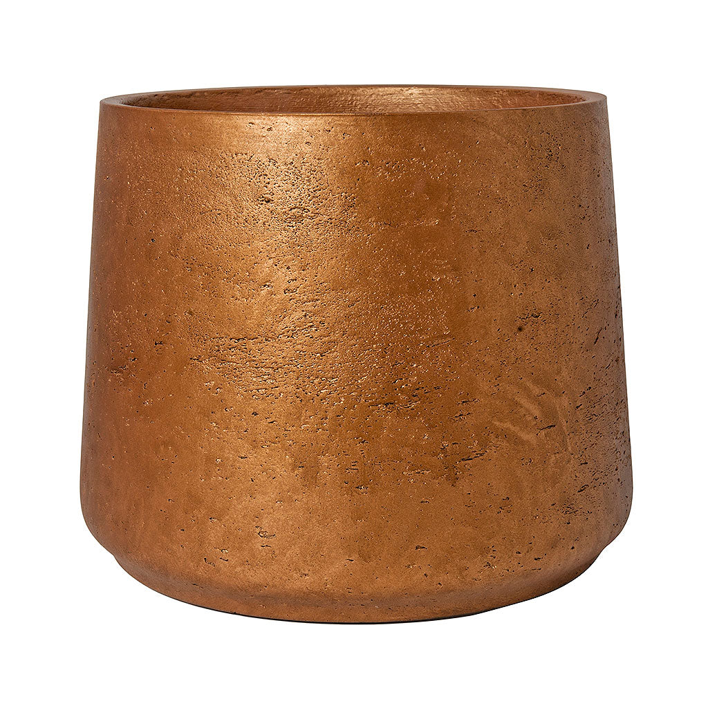 Patt Plant Pot - Metallic Copper 13.5cm 16.5cm 20cm
