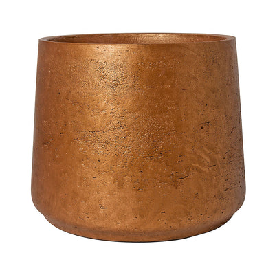 Patt Plant Pot - Metallic Copper 23cm 34cm