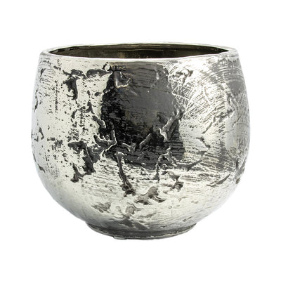 Ancient Chrome Plant Pot 32 x 26cm