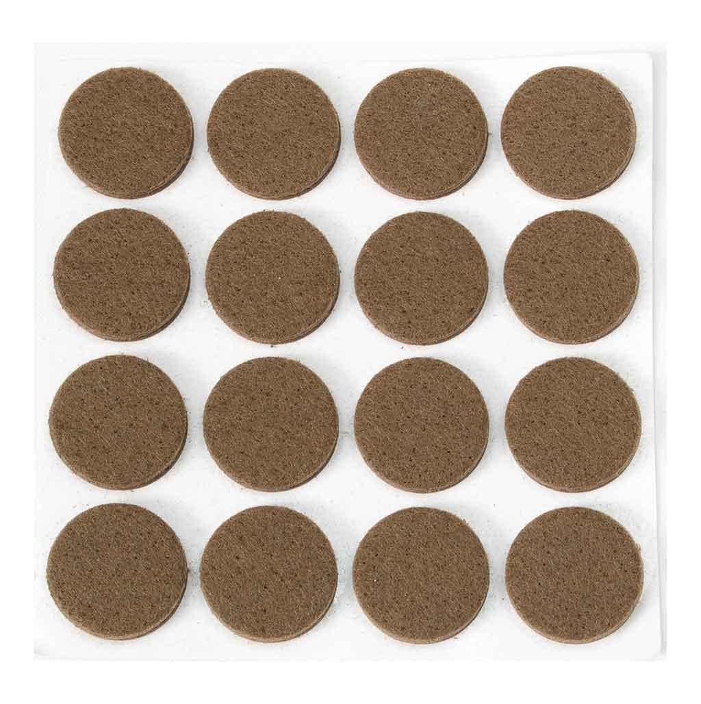 Anti-Scratch Felt Pads - Pack of 16 x 22mm