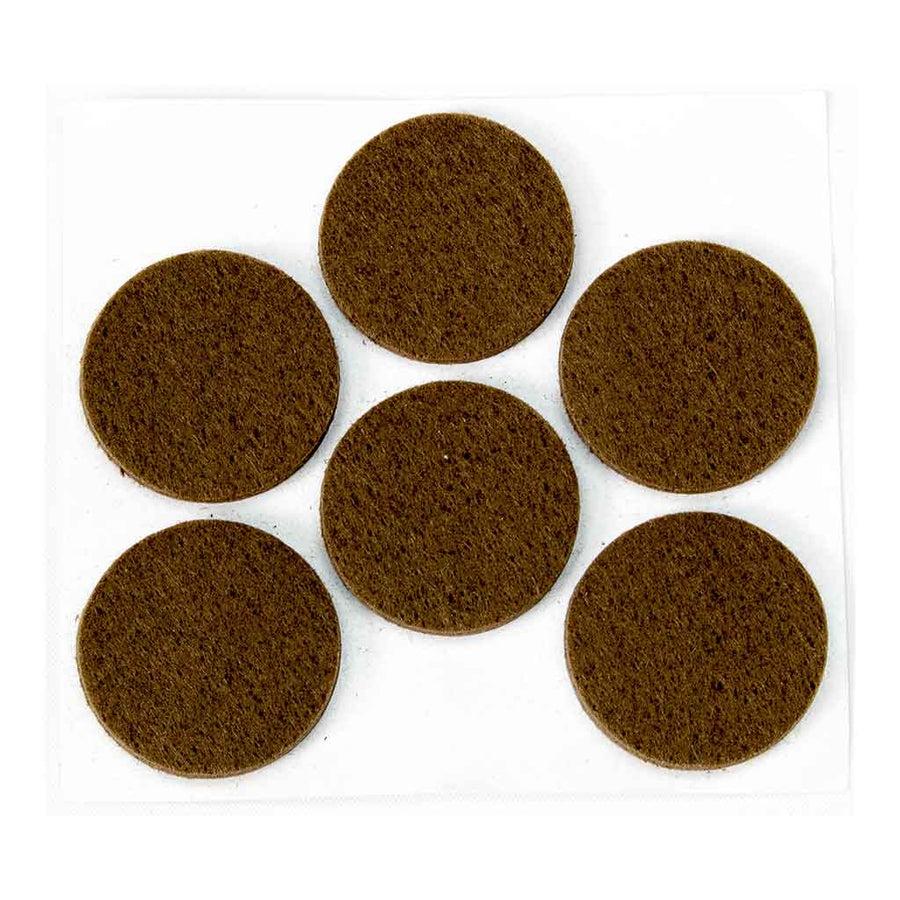 Anti-Scratch Felt Pads - Pack of 6 x 33mm