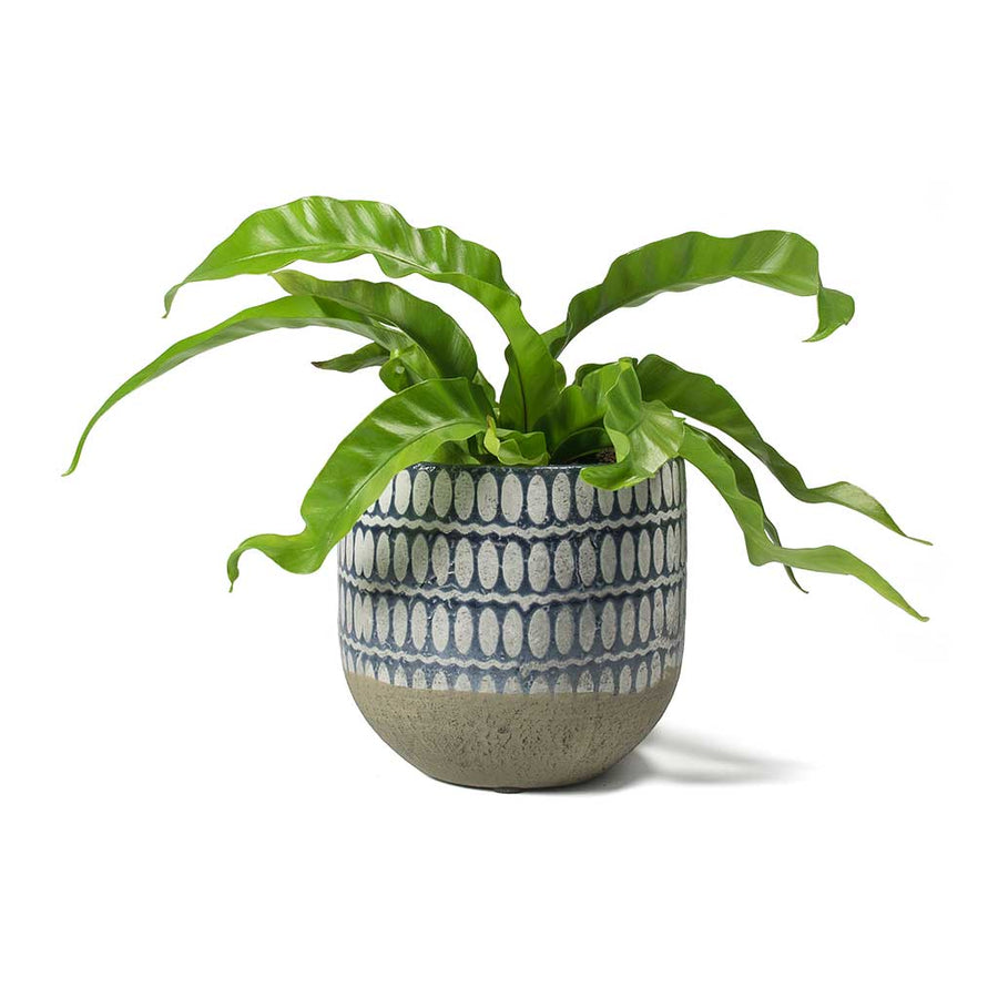 Elin Plant Pot - Denim