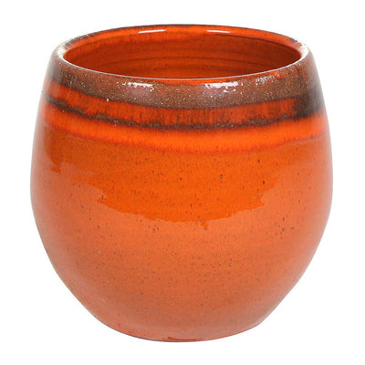 Charlotte Plant Pot - Red Orange - Medium