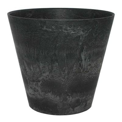 Claire Artstone Plant Pot - Black - Outdoor Planter