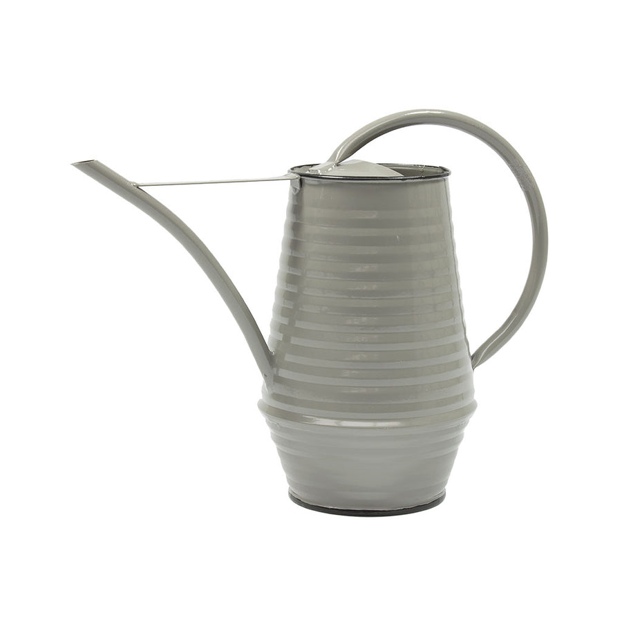 Coffee Pot Zinc Watering Can 0.9L - Grey