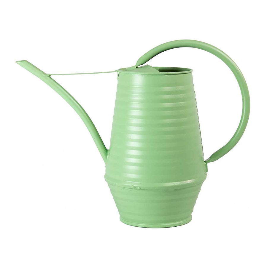 Coffee Pot Zinc Watering Can 0.9L - Mint Green