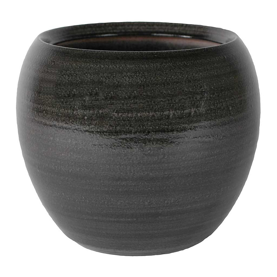 Cresta Plant Pot - Ebony Grey