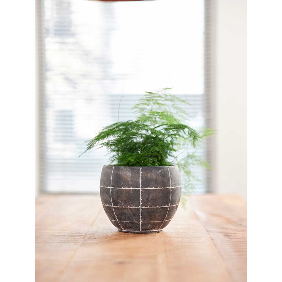 Detroit Plant Pot - Earth - Small