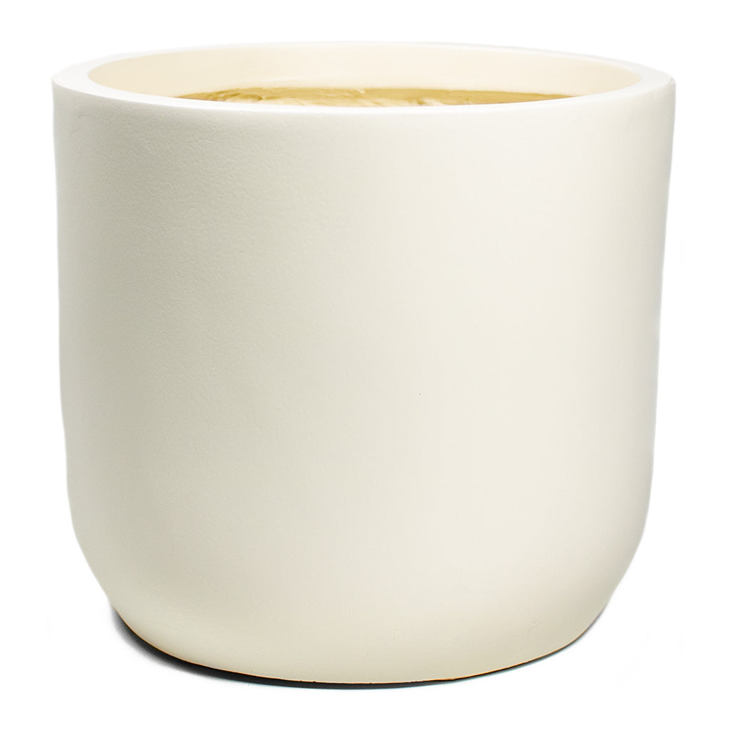 Ease Cylinder Planter Creme Medium