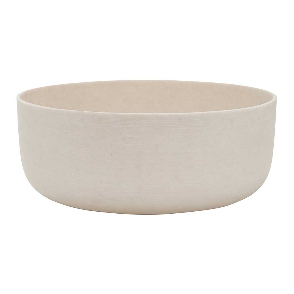 Eav Plant Bowl Natural White - Large