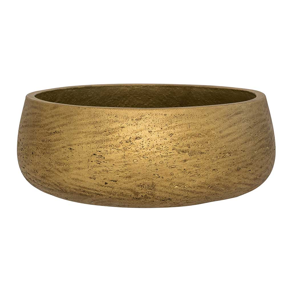 Eileen Plant Bowl - Metallic Gold