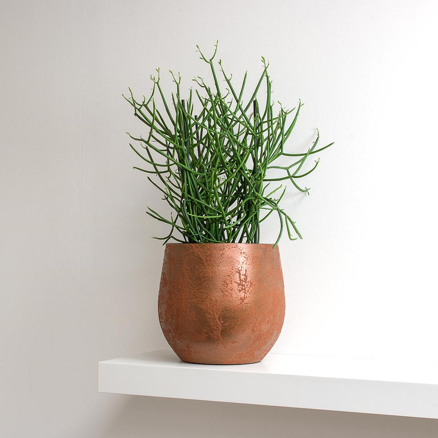 Esra Plant Pot - Rust