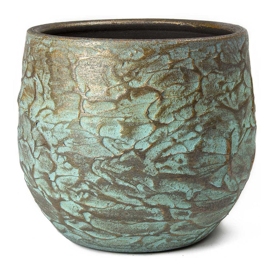 Evi Plant Pot - Antique Bronze