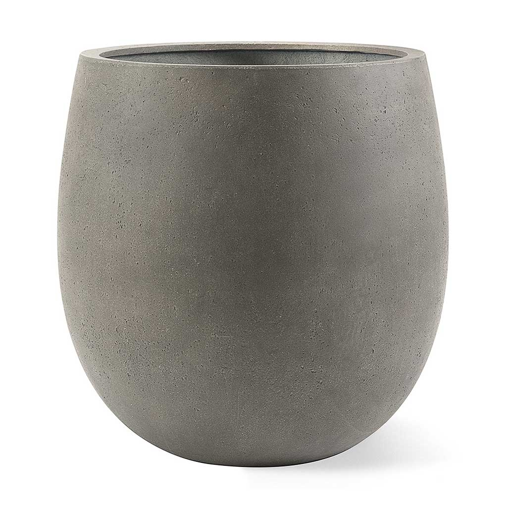 Grigio Balloon Plant Pot - Natural Concrete