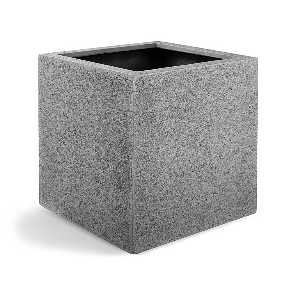 Struttura Cube Planter - Structured Light Grey