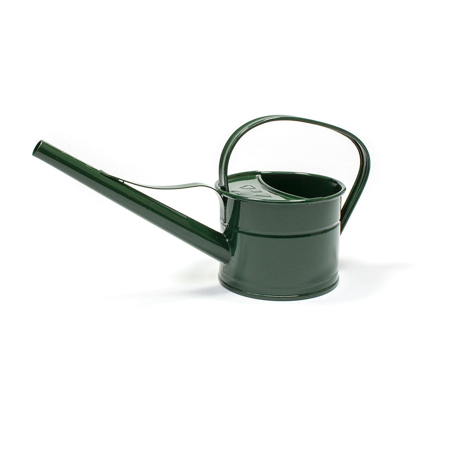 Hortology Zinc Indoor Watering Can 0.8L - Fir Green