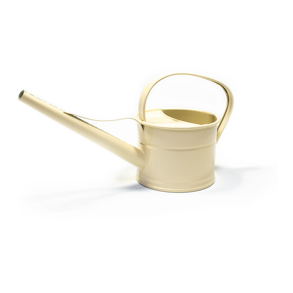 Hortology Zinc Indoor Watering Can 0.8L - Ivory