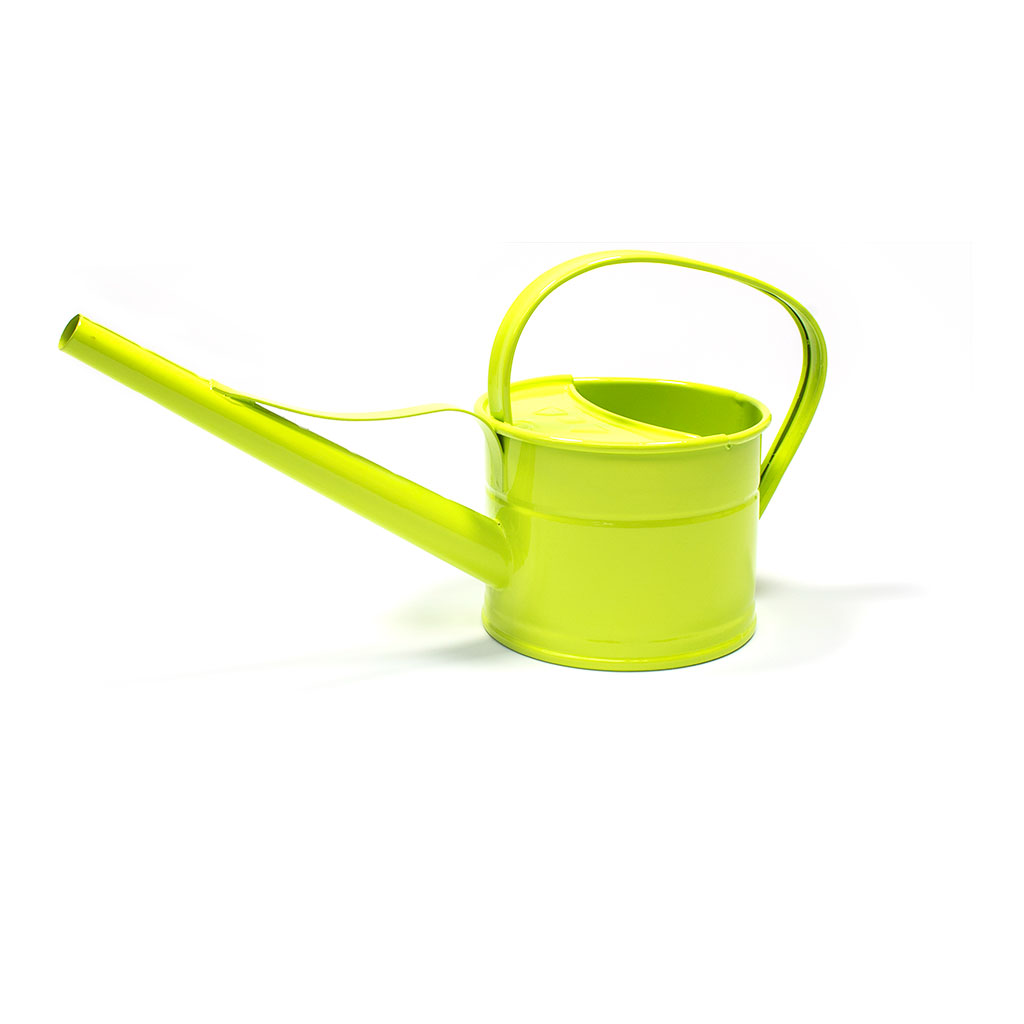 Hortology Zinc Indoor Watering Can 0.8L - Lime Green