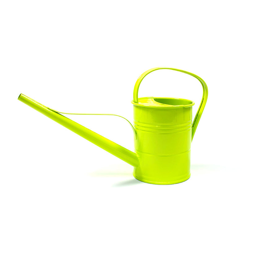 Hortology Zinc Indoor Watering Can 1.5L - Lime Green